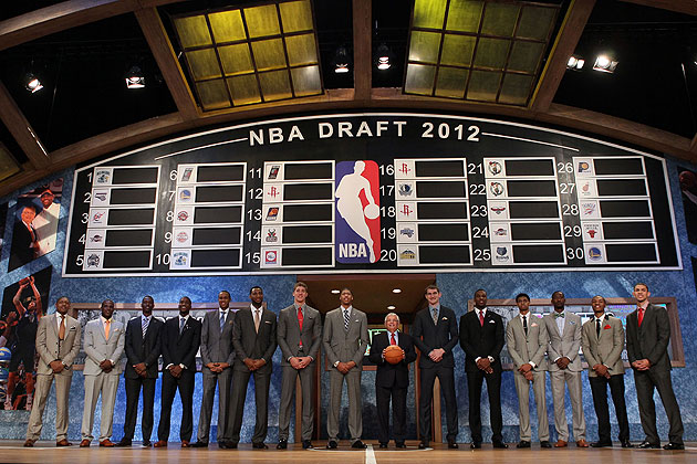 Let's draft, NBA! (Getty Images)