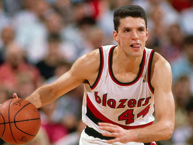 Drazen Petrovic never got the chance to break free in Portland. (Andrew D. Bernstein/NBA/Getty Images)