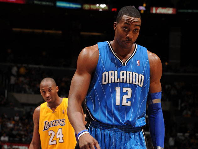 Dwight Howard reportedly wants to 'be Kobe Bryant, not be with Kobe Bryant.' (Getty Images)