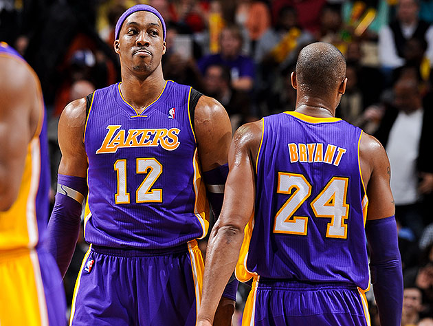 Dwight wanted to know what the Lakers planned to do after Kobe. (Andrew D. Bernstein/NBAE/Getty)