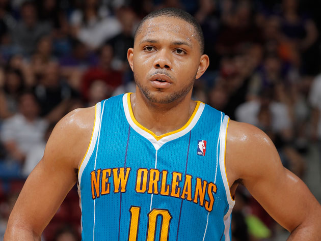 Eric Gordon, and the jersey he didn't want to wear ever again (Getty Images)