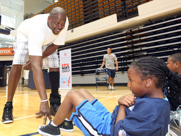 Patrick Ewing, making a difference (Getty Images)