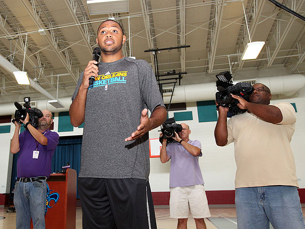 Eric Gordon asks why they don't just make the whole plane out of the black box. (Getty Images)