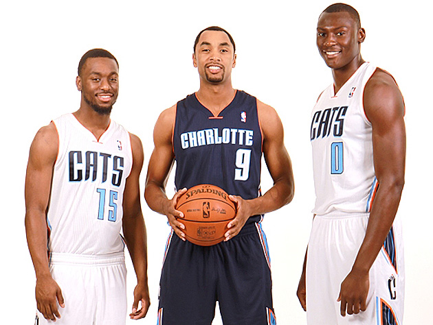 The Charlotte Bobcats have new uniforms