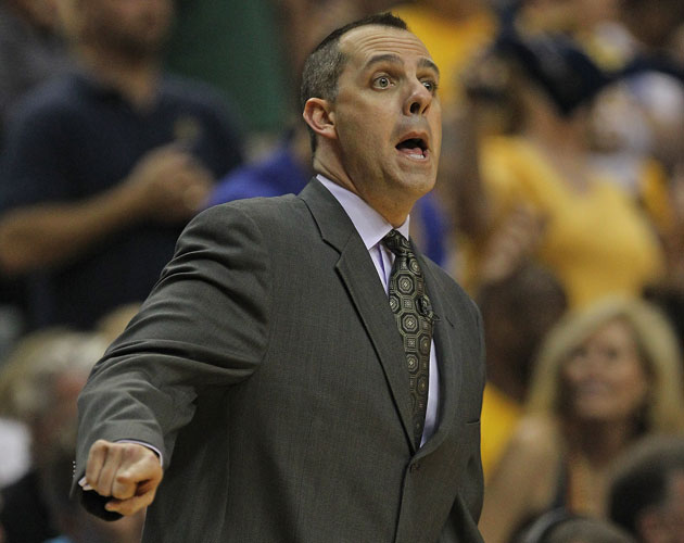 Frank Vogel sees a ghost/bad rotation (Getty Images)