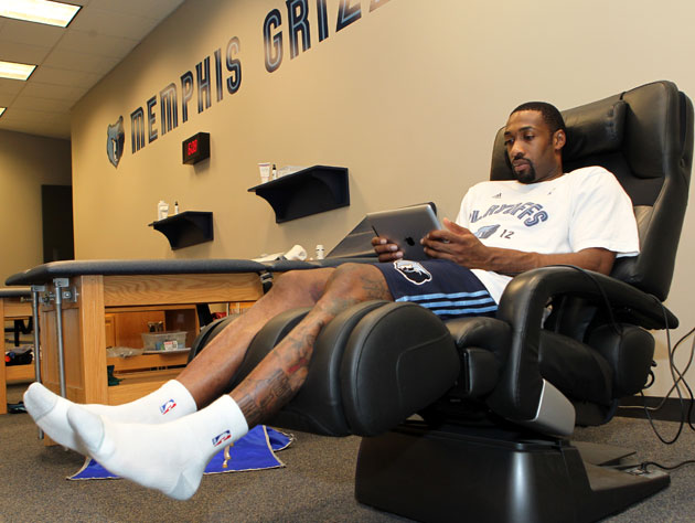 Anywhere Gilbert Arenas lays his head is his home. (Getty Images)