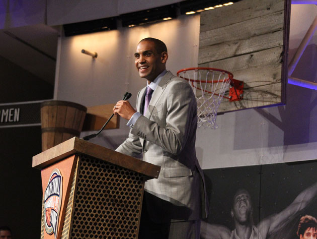 Grant Hill in Springfield on Thursday night (Getty Images)