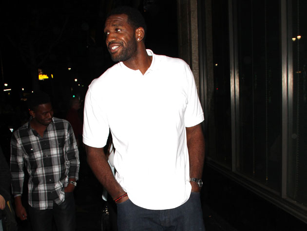 Greg Oden was spotted in Los Angeles late in July (Getty Images)