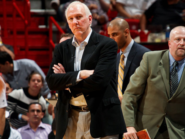 Gregg Popovich awaits his 'substantial sanctions' (Getty Images)