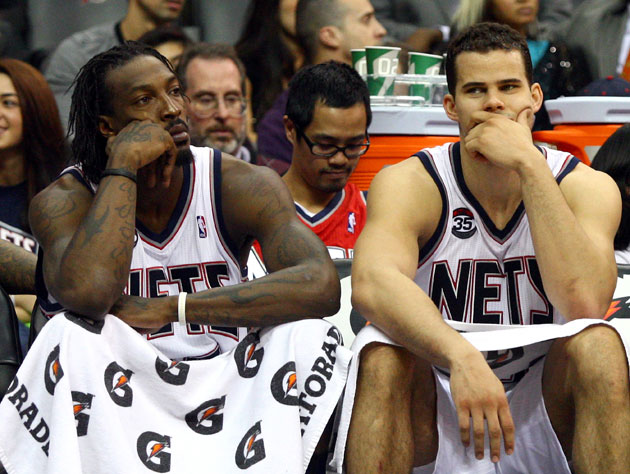 Gerald Wallace wants to be on this bench, again? (Getty Images)