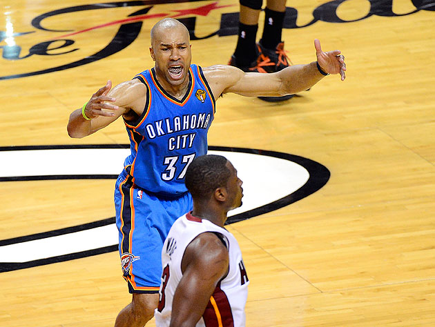 Geez, calm down, Derek Fisher. (Getty Images)