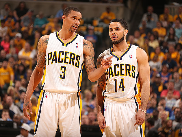 George Hill's out, meaning D.J. Augustin will need to step up. (Nathaniel S. Butler/NBA/Getty Images)