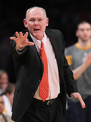 George Karl reaches out for that top-four spot. (Getty Images)