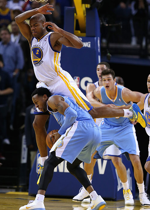 Good defense, Jarrett Jack. (Getty Images)