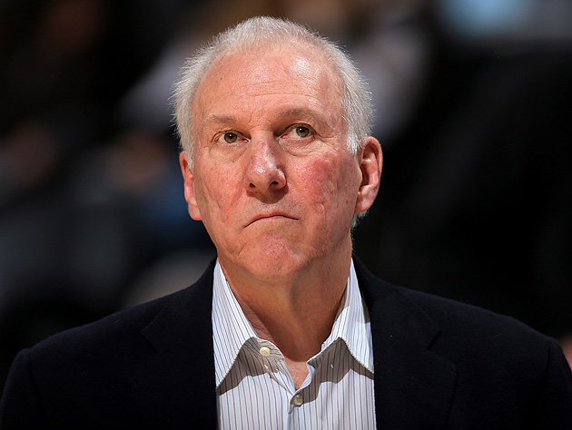 Gregg Popovich considers reaping the whirlwind again. (Doug Pensinger/Getty Images)