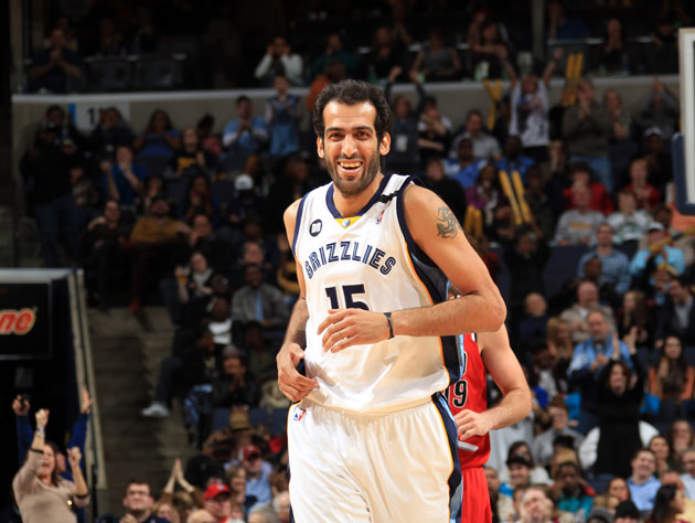 Hamed Haddadi in Memphis (Getty Images)