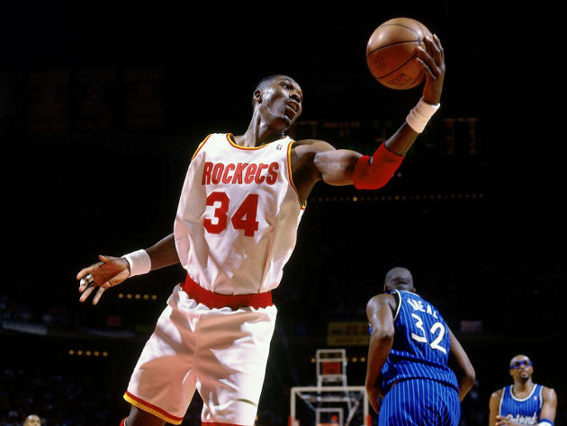 Hakeem always made it look good. (Nathaniel S. Butler/NBA/Getty Images)