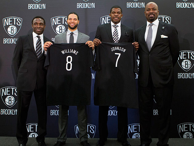 How much noise the Nets make will depend largely on how their new backcourt comes together. (Getty Images)