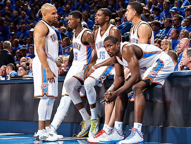 How much trouble are the Thunder really in. (Layne Murdoch/NBA/Getty Images)