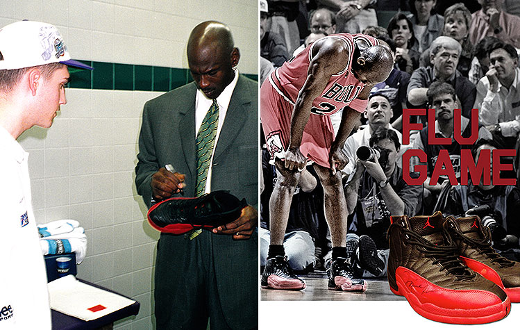 Michael Jordan\'s autographed \'Flu Game\' sneakers sell for record ...