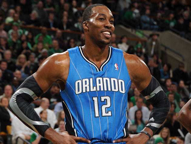 Dwight Howard, so angry (Getty Images)