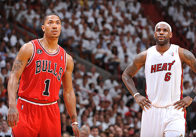 It looks like we'll be seeing the last two MVPs squaring off on Opening Night. (Jesse D. Garrabrant/NBAE/Getty)