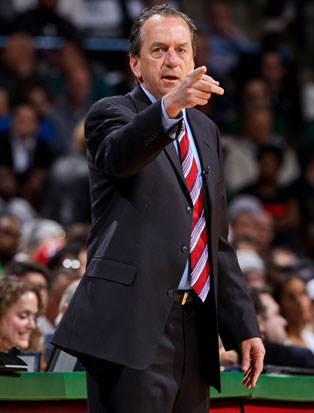 Jim Boylan during what could be his last game as Bucks coach (Getty Images)