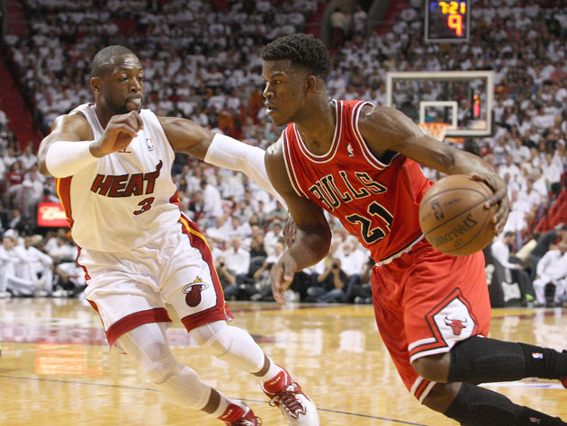 Jimmy Butler played all 48 minutes in his team's win (Getty Images)