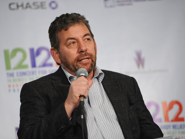 James Dolan, sans badge or ID (Getty Images)