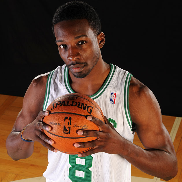 Jeff Green found the one normal number left on the Celtics that hasn't been retired (Getty Images)