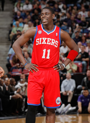 Jrue Holiday doesn't *look* tired (Getty Images)