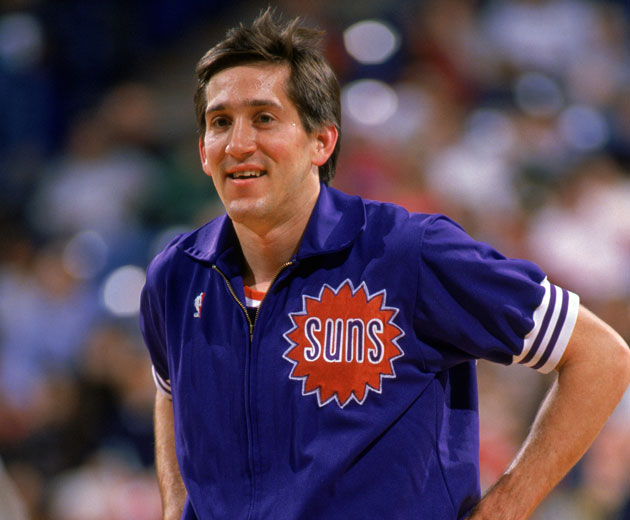 Jeff Hornacek, in the uniform we hope he wears as Suns coach (Getty Images)