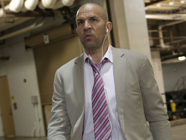 Jason Kidd, during a frustrating final playoff run in May (Getty Images)
