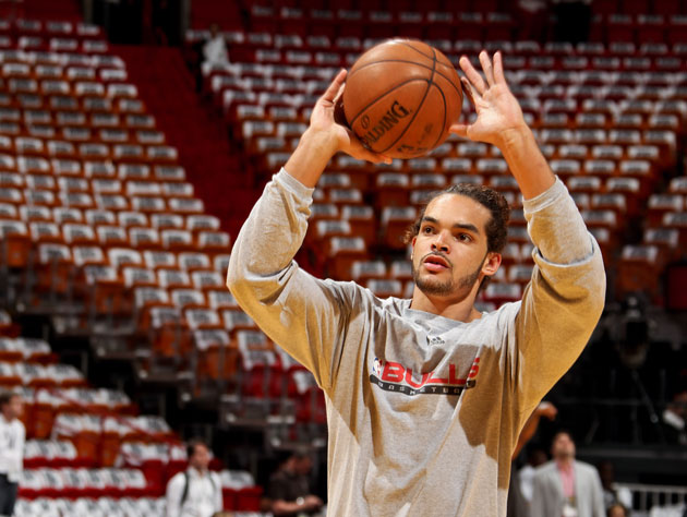 Joakim Noah has hit nearly 75 percent of his free throws over the last four years (Getty Images)