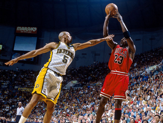 Jalen Rose falls short when it comes to Michael Jordan. (Getty Images)