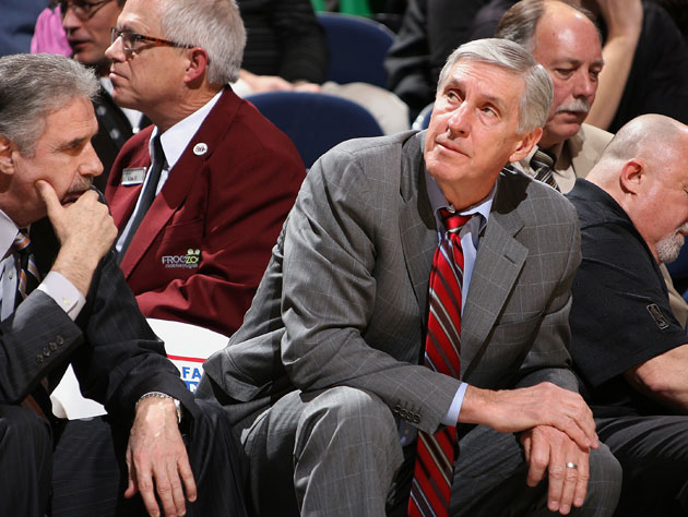 This was Jerry Sloan's reaction the last time he had to coach in Milwaukee (Getty Images)