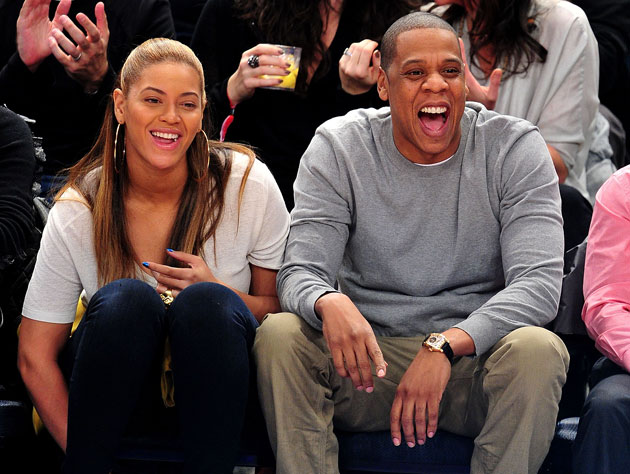 Beyonce and Jay-Z. U mad? (Getty Images)