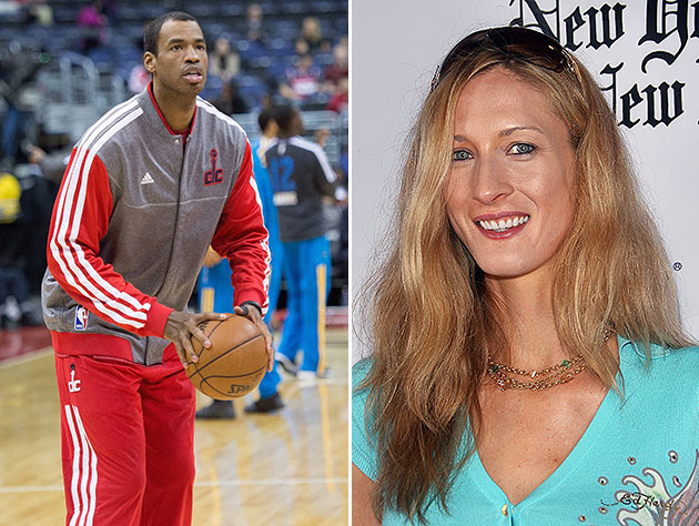Jason Collins and former fiancee Carolyn Moos. (MCT/Getty Images)