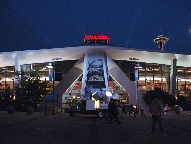 Key Arena, in 2008 (Getty Images)
