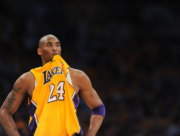 Kobe Bryant has given up on some bad habits, but retains one curious one (Getty Images)