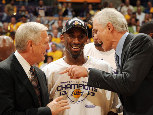 Kobe Bryant, wishing it were still like this (Getty Images)