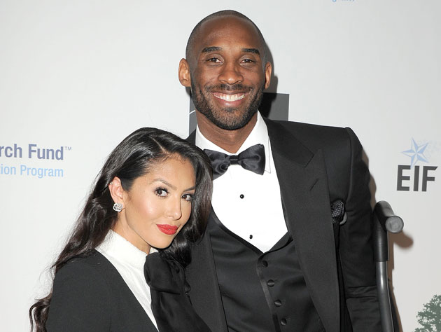 Kobe's already ditched the crutches. The tux comes next. (Getty Images)