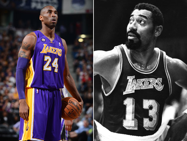 The NBA's fourth and fifth all-time leading scorers (Getty Images)