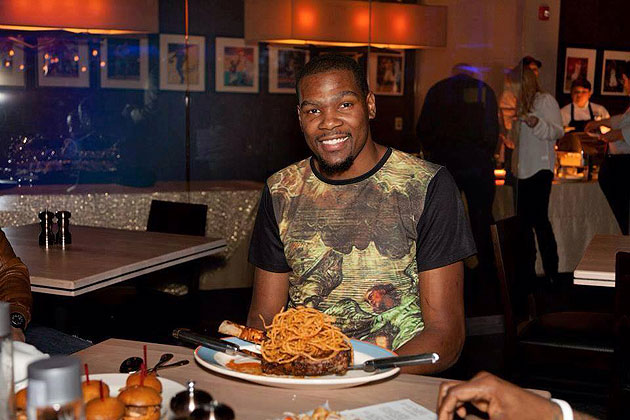 Kevin durant has opened up his own restaurant kd s for Kd s restaurant