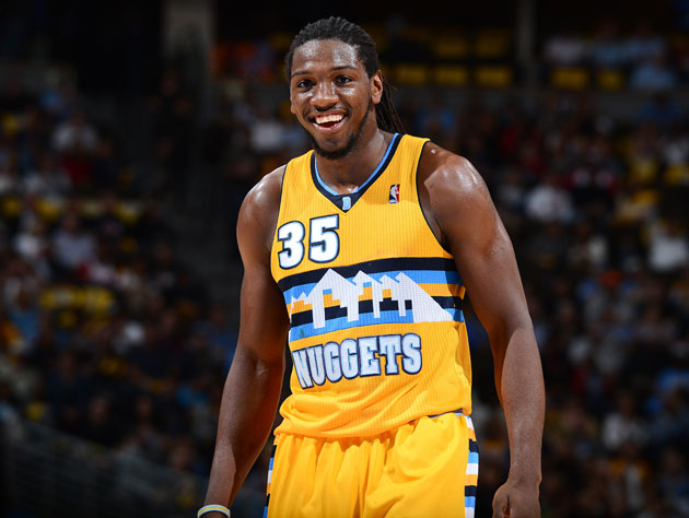 Fifteen points and eight rebounds in only 22 minutes for Kenneth Faried (Getty Images)