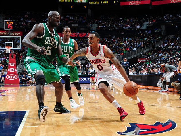 Kevin Garnett, being driven on by absolutely nobody (Getty Images)