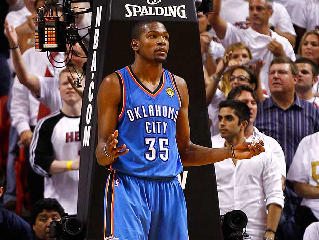 Kevin Durant cannot believe how much lawyers cost. (Getty Images)