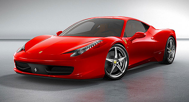 Kobe Bryant just bought himself a Ferrari 458 Italia. (Photo courtesy of Ferrari)