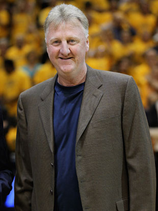 Larry Bird in 2012 (Getty Images)
