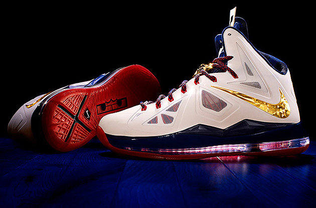 LeBron James' new signature Nikes (Image via www.lebronjames.com)